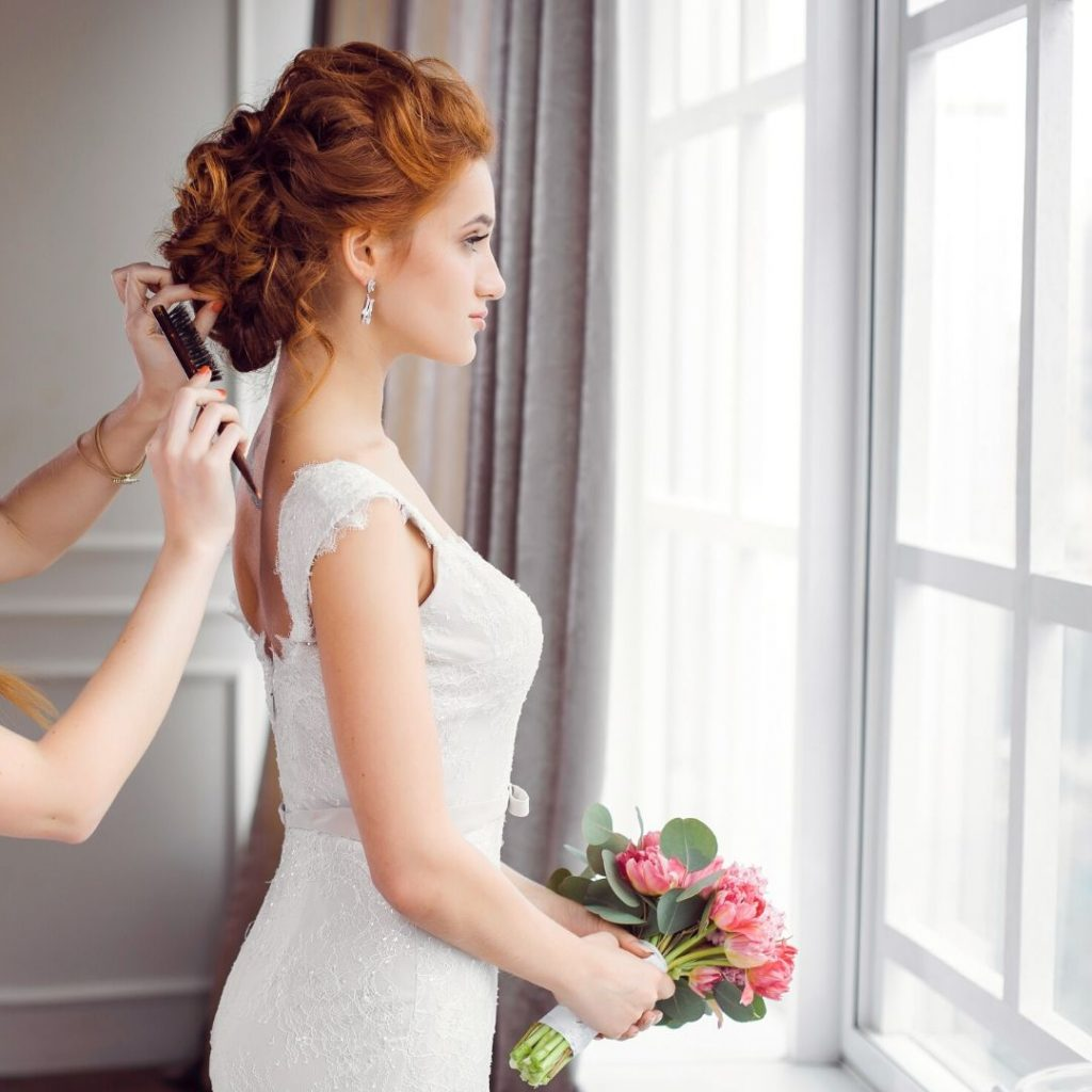 gold coast makeup and wedding hairstyle